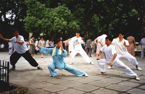 Tai Chi Chuan in China